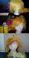 Styled Panty Wig for Cosplay by SinKatt