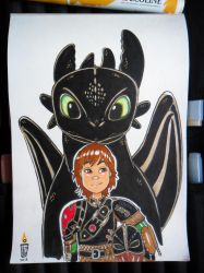 How To Train Your Dragon by NIHONRYU