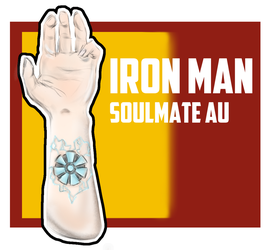 Iron Man Soulmate Mark by AdorablyDangerous