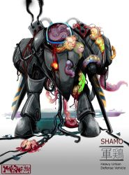 Corrupted Shamo by MaKuZoKu