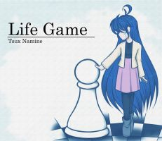 Life Game Cover- Tsux Namine by MewKwota
