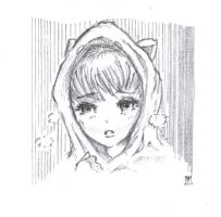 Manga style sketch by OcioProduction