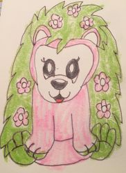 webkinz country side hedgehog drawing by lpscat123