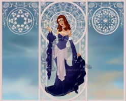 Greek Goddess Series: Asteria by luv2icesk8