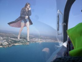 Giantess Emma Watson by docop