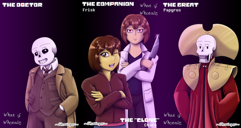 What if Whotale character pages by GhostLiger