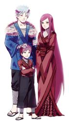 Tobirama senju,Himeko uzumaki and their son by Rarity-Princess