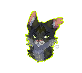 Warrior Cats - Darkstripe by TheMashedCat