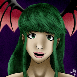 [Request] Morrigan Aensland by MrRudy