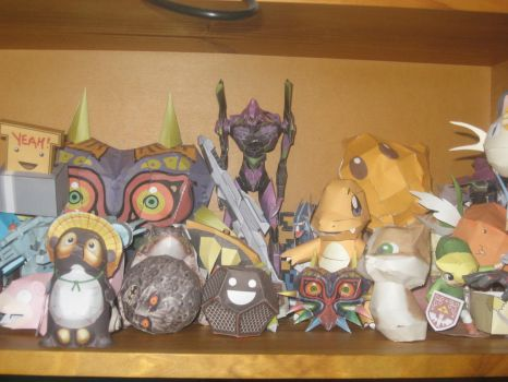 My 'small' papercrafts by Ultima-D
