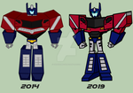 Transformers Alliance 2014 | Optimus Practice! by SRGDuck