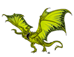 Chartreuse Drake by ProdigyDuck