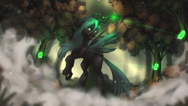Chrysalis's Wrath by Blackligerth