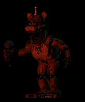 Nightmare Withered Freddy by EndyArts