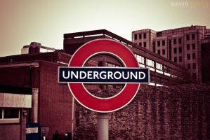 London Underground by Dave-D