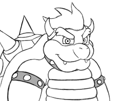 Bowser by Travis-CJ