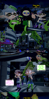 Chaos in Inkopolis part 6: Plaza Peril by DarkMario2