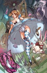Alice in Wonderland 2010 by J-Scott-Campbell