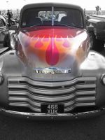 Chevy Grill by blackpixifotos