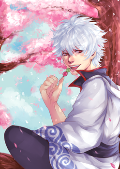 Gintoki by antique-teacup