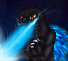 Godzilla's Atomic Breath by PlagueDogs123