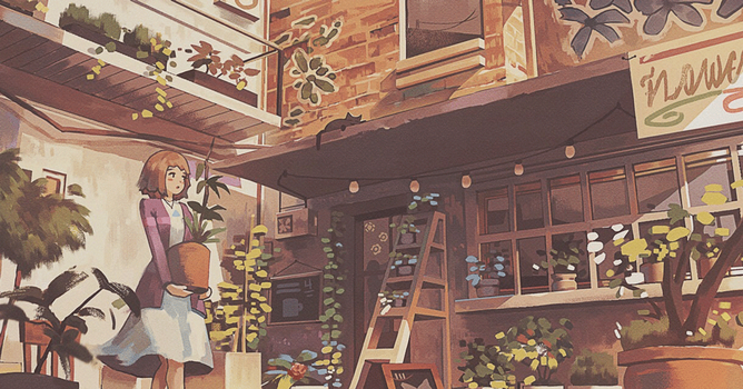 Process for Plant Shop by Klegs