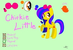 Chickie Little Color Chart by Marzipan-Madness