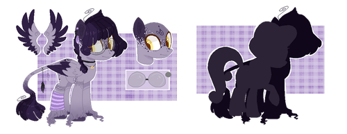 Vio | Reference Sheet by SpaceCacctus