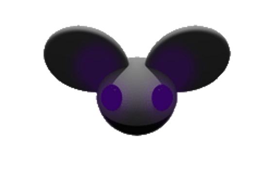 Purple Blinking Mau5head by jollypop2008