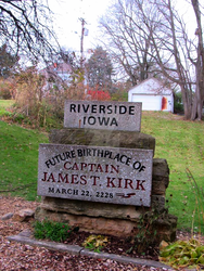 Future Birthplace Of Captain Kirk Monument by Venoms-Lil-Nibble
