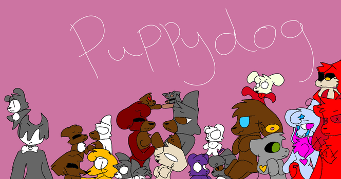 All of my ocs by PuppyPuppies3321