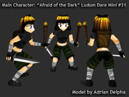 Player Character Ludum Dare Mini 31 by DelphaDesign