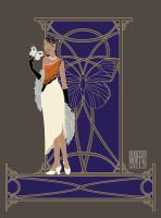 Great Orange Tip Fashion Butterfly by lissa-quon