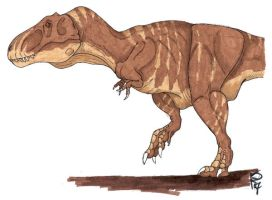 Inkosaurus rex Colored by Mountaineer47