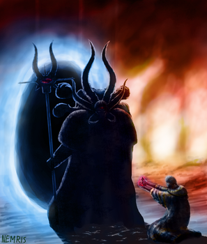 The Call of Ahriman by Nemris