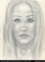 Christina Aguilera drawing 1 by AndRay-BF