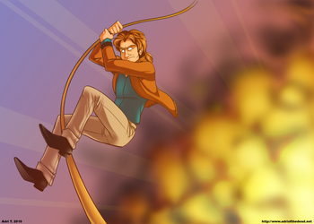 MacGyver by AdriOfTheDead