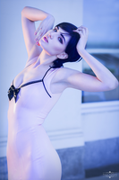 Pink, purple and blue I by Paige-Addams