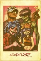 Gorillaz by EddieHolly