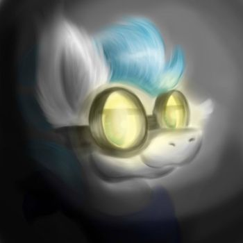 North Winds with goggles by NorthWindsMLP