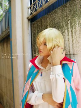 Cosplay Howl's moving castle by Allisaer