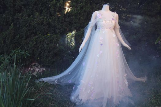 Meadow Mist Bridal Gown by Firefly-Path