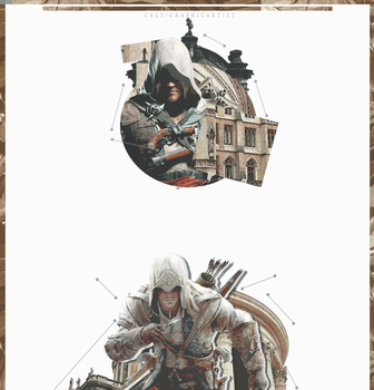 [ 12/09/2016 - Graphic ]  Assassins Creed l XeoC.B by SaeStoos153