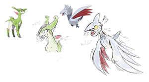 Pokemon Mini-TFs 1 (Virizion, Skarmory)