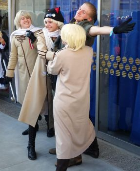second day at Sac-Hetalia meetup-GerRus by ArthurJones93