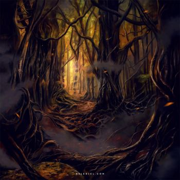 Immemorial Forest by Nele-Diel