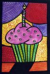 Cupcake ACEO by mintdawn