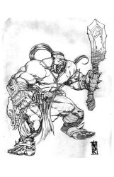 World of Warcraft Orc by warpath28