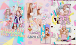 [PSD]: SNSD's 9th debut anniversary by Jenny3110