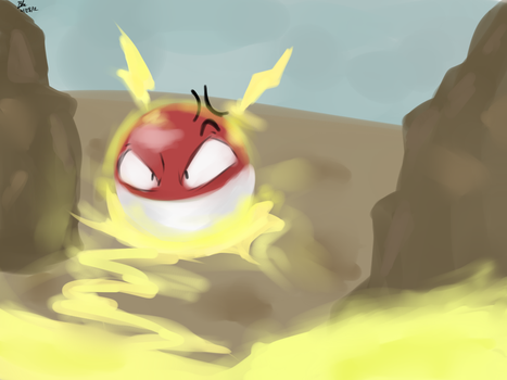 Voltorb by Pokemonfan4ever